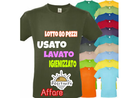 T-SHIRT USATE COME NUOVE DISASSORTITE
