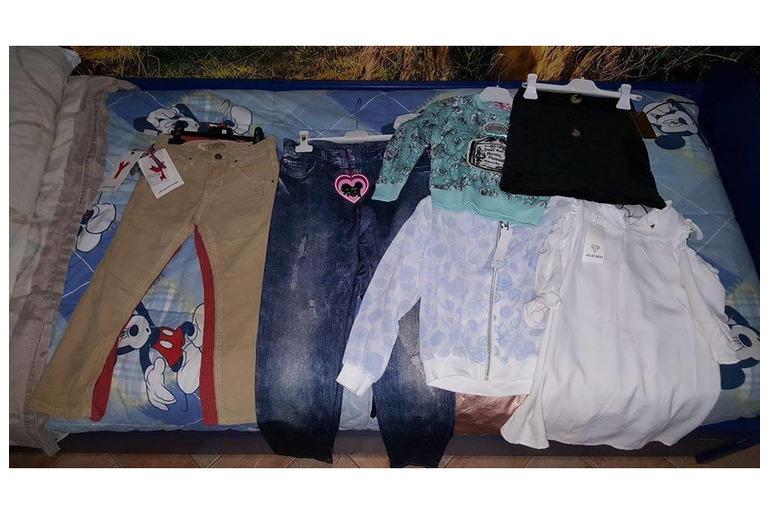 Stock NUOVO abbigliamento bimbo/a