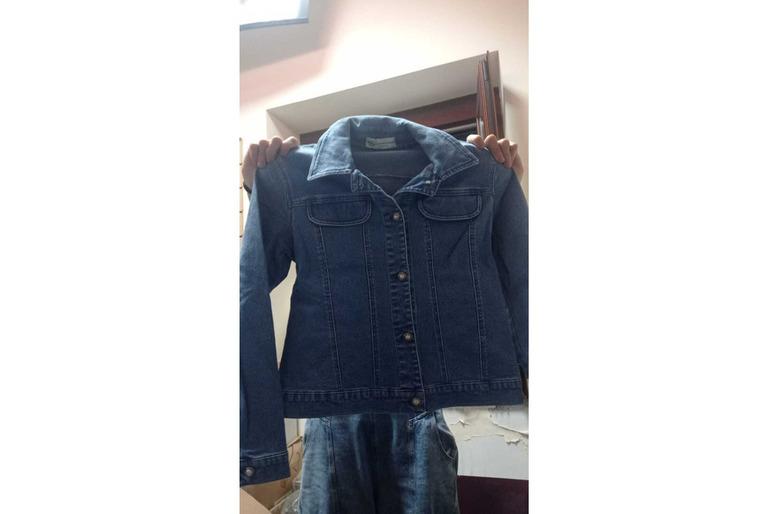 stock abbigliamento jeans/ cotone